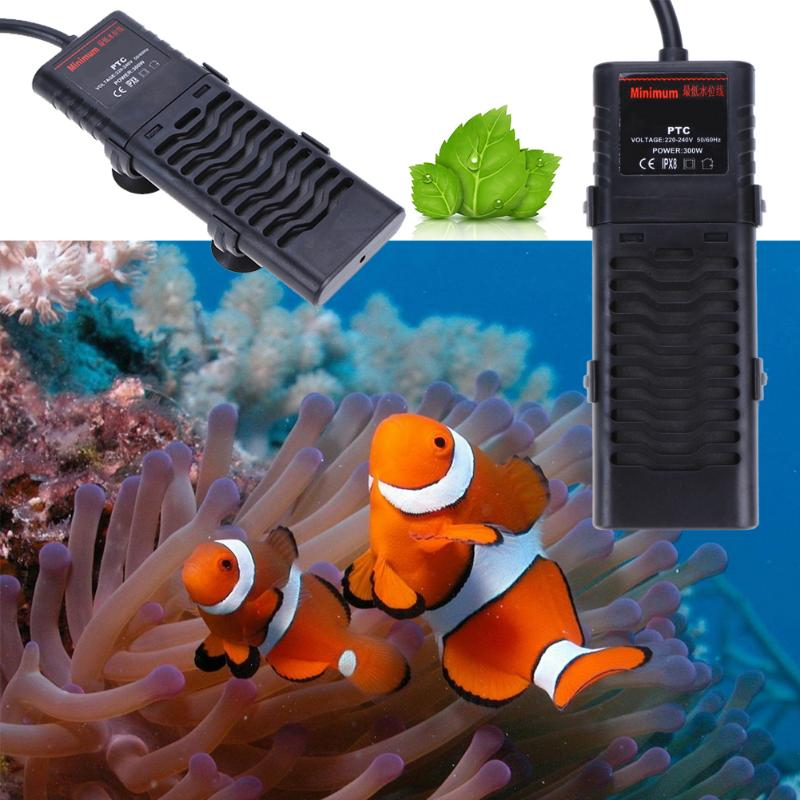 Aquarium Heater 300W/500W/800W Explosion Proof Electronic Heating Rod for Fish Tank Aquatic Temperature Controller 220-240V