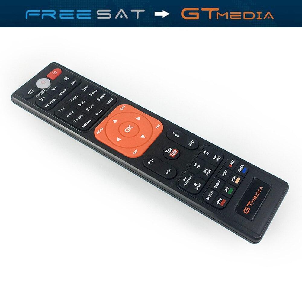 GtMedia V7S Receptor Satellite Receiver HD DVB S2 Decoder Extra Remote Control USB WiFi Freesat V7 TV Tuner VU Key Cline Youtube-in Satellite TV Receiver from Consumer Electronics    3