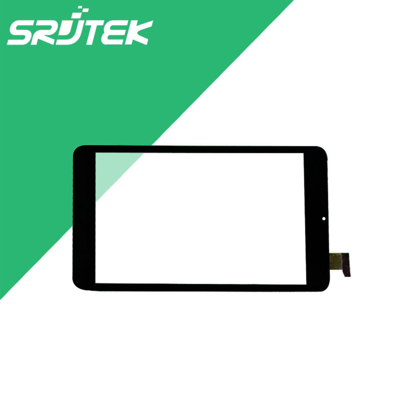 080291-01A-V1 For Cube U27GT Touch Screen Digitizer Sensor Outer Glass 080291-01A-V1 Tablet PC Replacement Parts 8 New Black