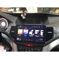 Chogath 9 дюймов 2 din Автомобильный мультимедийный плеер четырехъядерный Android 8,0 автомобильный Радио gps навигация для Honda Accord Spirior 2008 2011