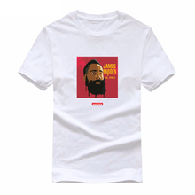 summer new Rockets James Harden Mens cotton T-shirt maillot de basket t-shirt for man compression shirt