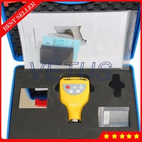 DR220 Portable Coating Thickness Gauge with Magnetic Measuring Method Zin Coating Thickness Meter Paint Coating Thickness Tester