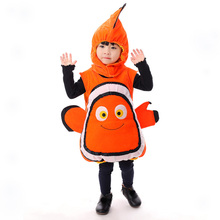 Childrens clothing the bottom of sea Nemo clownfish Fantasy Comic Movie Carnival Party Purim Halloween