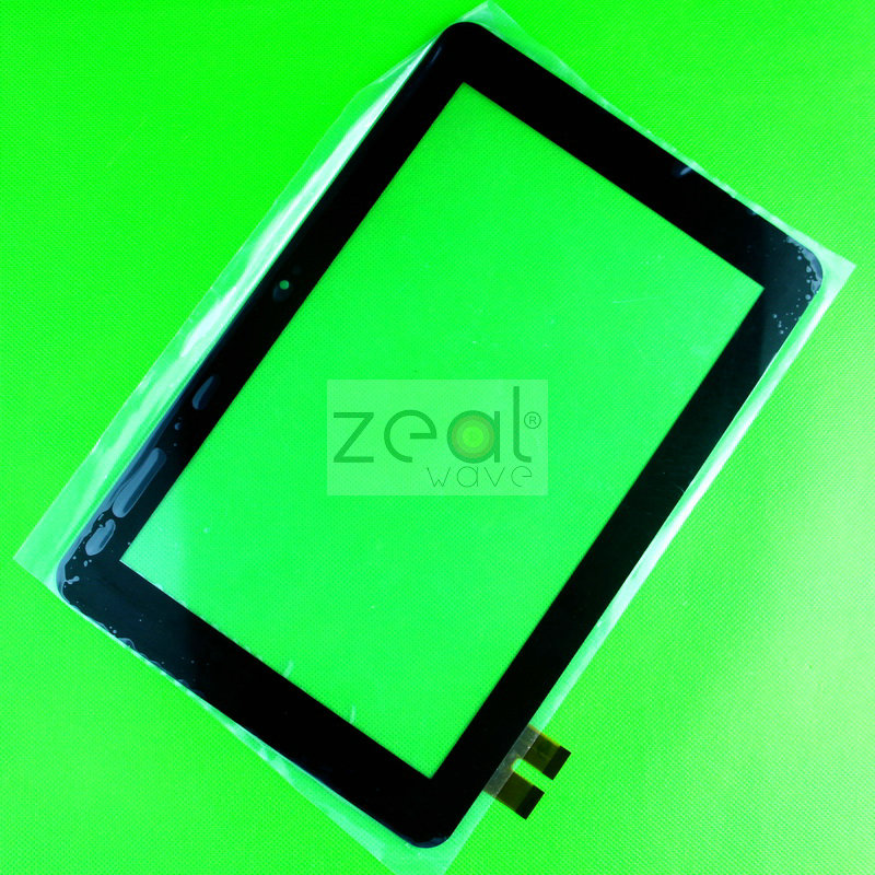 10pcs  263*172mm 10.1'' For GOCLEVER TAB R105BK MT10104-V2D Touch Screen Touch Panel Digitizer Glass Replacement  Black Color goclever 83 2