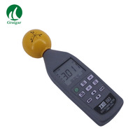 EMF Meter Triaxial Data Logger TES 593 For Isotropic Measurements of Electromagnetic Fields triaxial measurement