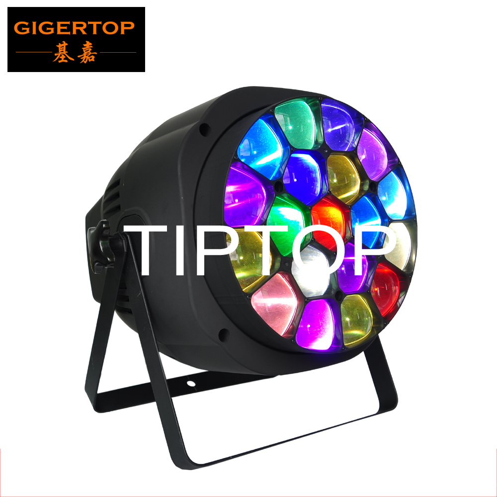 TIPTOP TP-P82 2016 Hot Selling Stage Light Equipment Big Bee Eye k10 19*15w rgbw 4in1 Stage Led Par Cans Amazing Hawkeye tiptop tp t08 big led co2 launcher food class co2 gas led colorful rgb changing anti false triggering insurance 8pcs aa battery