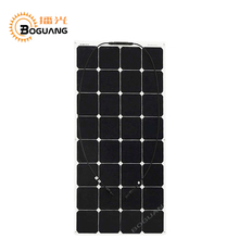 BOGUANG 100W 18v solar panel efficient flexible efficient cell PV module for