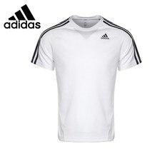 b4d043c9320 Originele Nieuwe Collectie Adidas Prestaties D2M TEE 3 S heren T-shirts  korte mouw Sportkleding