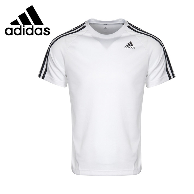 e08b01397fe4b4 Original New Arrival Adidas Performance D2M TEE 3S Men s T-shirts short  sleeve Sportswear