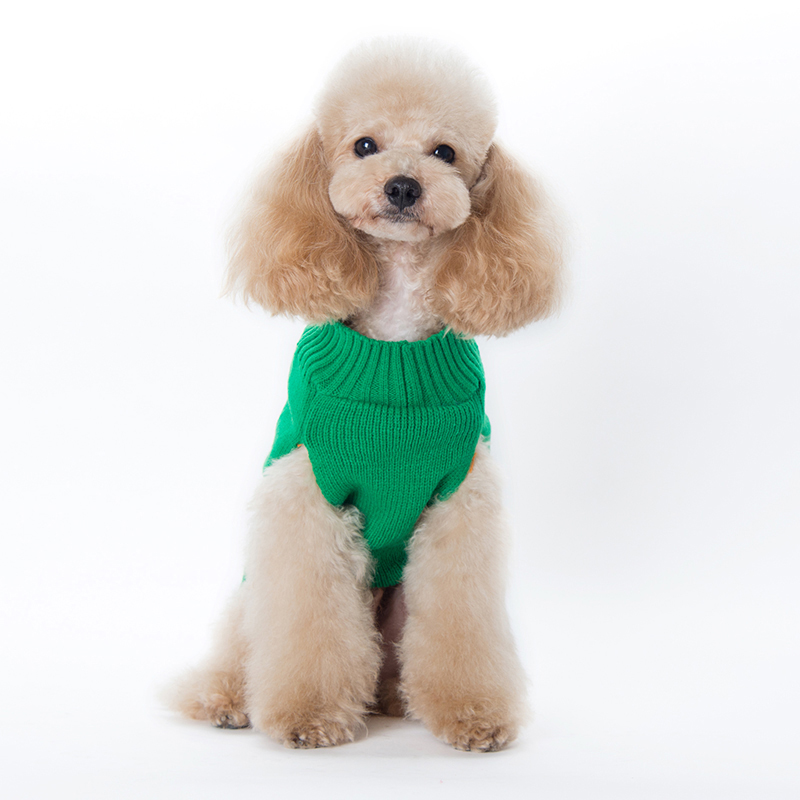 Navidad perro ropa mascota suéter chaleco Navidad árbol patrón tejer ...