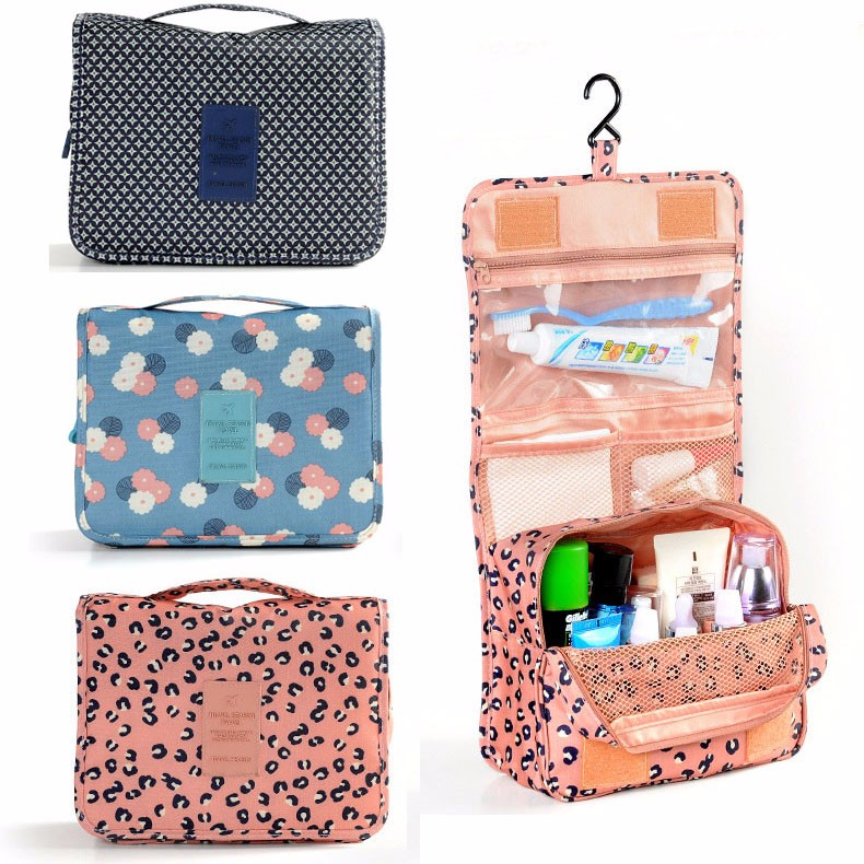 Cosmetic Makeup Bag Pockettrip Hanging Toiletry Kit Clear Travel BAG Cosmetic Carry Case Toiletry