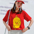 Cartoon short-sleeve...