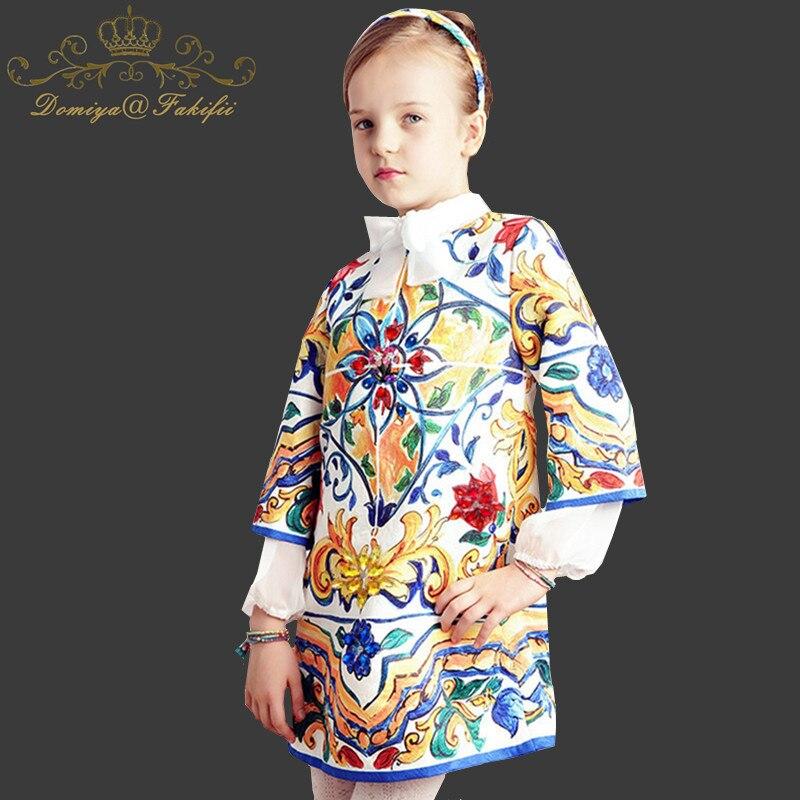 The new 2018 Kids Clothings Party Costume Baby Girls Dresses Vestido Princesa girl dress  flowers Kids Dresses for Girl Clothes princesa extra 310 мл arcoroc