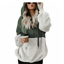 Женский флисовый свитер размера плюс 6xl Повседневный с капюшоном