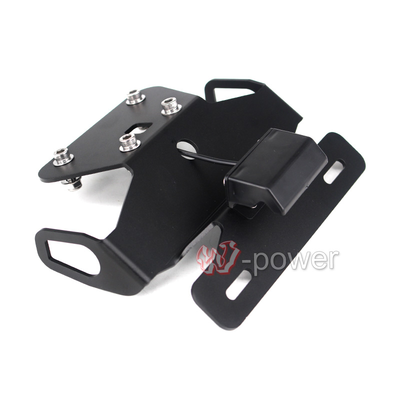 For KAWASAKI NINJA 250R EX250 2013-2014 Motorcycle Fender Eliminator Registration Plate Bracket License Plate Holder Light Screw mf2300 f2