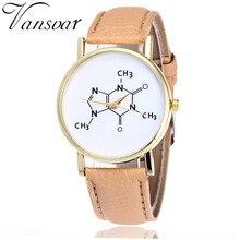 Zegarek Damski VANSVAR Wzory Chemiczne różne kolory