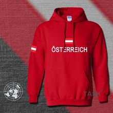 Austria hoodies men sweatshirt polo sweat suit hip hop streetwear cotton tracksuit nation Austrian flag AT fleece 2017 country