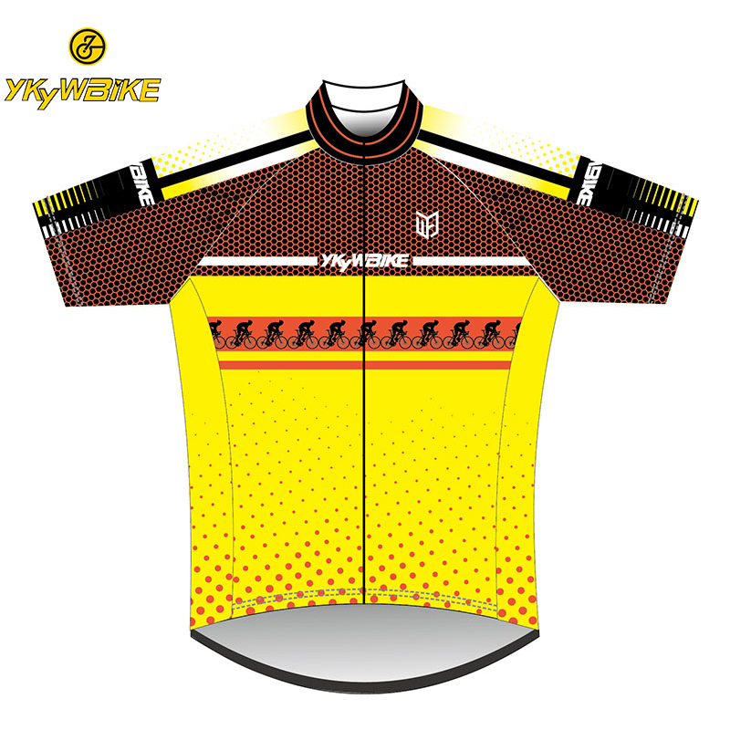 YKYWBIKE Custom Cycling Jersey Customized Cycling Clothing MTB Bicycle Clothes Downhill Jersey Maillot Ciclismo Hombre