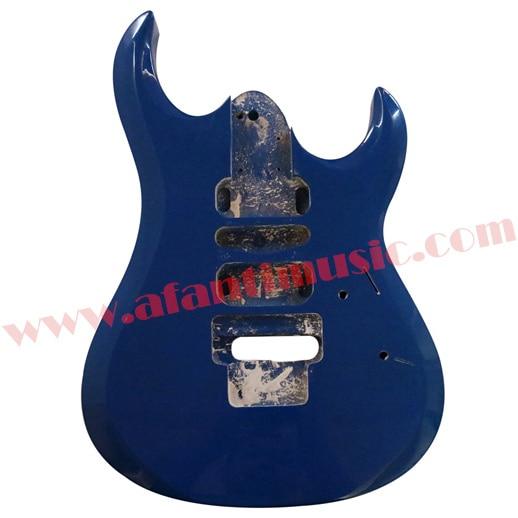 Afanti Music DIY guitar DIY Electric guitar body (ADK-074) afanti music diy guitar diy electric guitar body adk 022