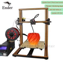 2017 Nuevo Llega El 3D Impresora CR-10S Actualización Dual Z Varilla Tornillos, Protección de Monitoreo de Alarmas de Filamento Impresora 3D Kit DIY CREALITY 3D