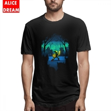 Boy Light Of Courage T-shirt Vintage Camiseta Organic Cotton Free Shipping The legend of zelda t shirt Link