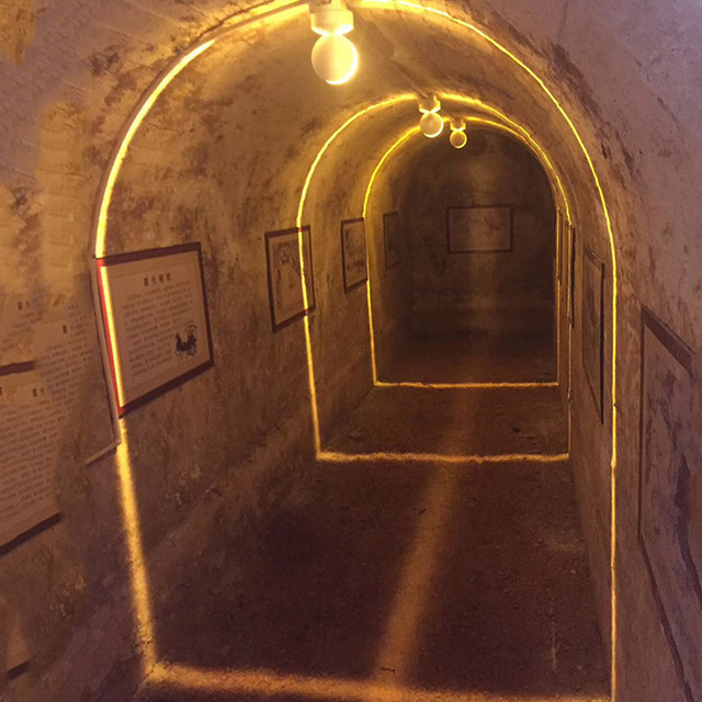 Thrisdar 7W 야외 방수 LED 베란다 벽 조명 도어 프레임 창 윤곽선 빛 360 학위 호텔 KTV 복도 벽 램프