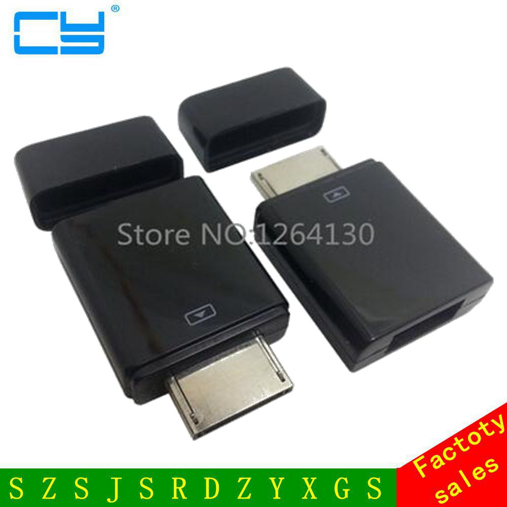 New Tablet Connector Host Kit USB OTG Adapter for Asus VivoTab RT TF600 TF600T TF600TL TF810C yatour car digital music cd changer aux mp3 sd usb adapter 17pin connector for bmw motorrad k1200lt r1200lt 1997 2004 radios