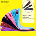 Hot Sale 1 Pair Height Increase Insole Men Women Height Increase Insoles Adjustable Sports Shoes Pad Cushion Inserts for Unisex