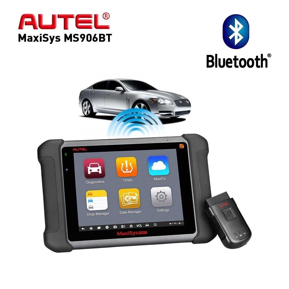 Aute OBD2 Scanne Car Diagnostic Tool  Maxisys MS906BT/DS808K Key Programmer Automotive  Scanner Better to launch x431