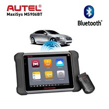 Aute OBD2 Scanner A Diagnostic Tool  Maxisys MS906BT/DS808K Key Programmer Automotive  Scanner Better to launch x431 цена 2017