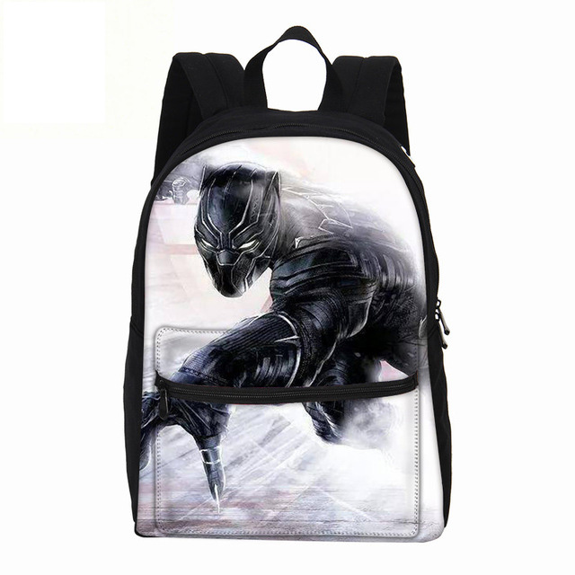 VEEVANV Brand Black Panther Printing Backpacks Boys Daypacks Fashion School Bookbags Casual Canvas Shoulder Bag Laptop Rucksack dispalang brand laptop backpack flamingo pattern multifunction rucksack men casual daypacks unisex school bookbags bagpacks pack