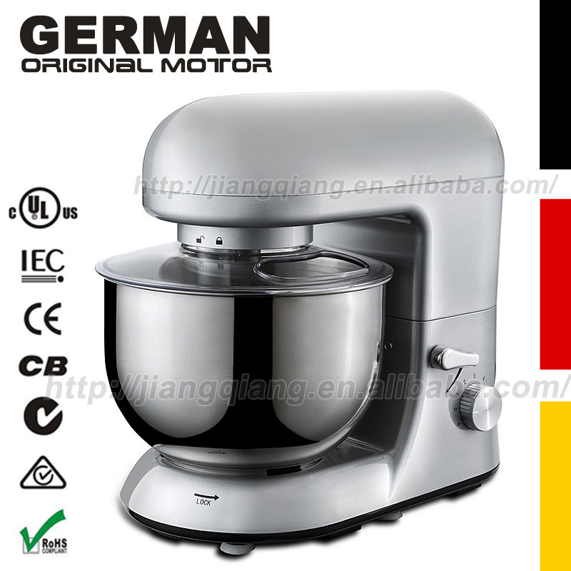 Kitchen 6 Speed Electric dough mixer Tilt Head and Cooking Chef blender Machine - Silvery KSM150 head speed 25 gr07 234856