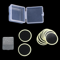 10pcs Universal Cycling Mend Bicycle Bike Repair Fix Kit Flat Rubber Tire Protection Tube Patch Glueless Patch Kit Hand Tools Machine Tools & Accessories
