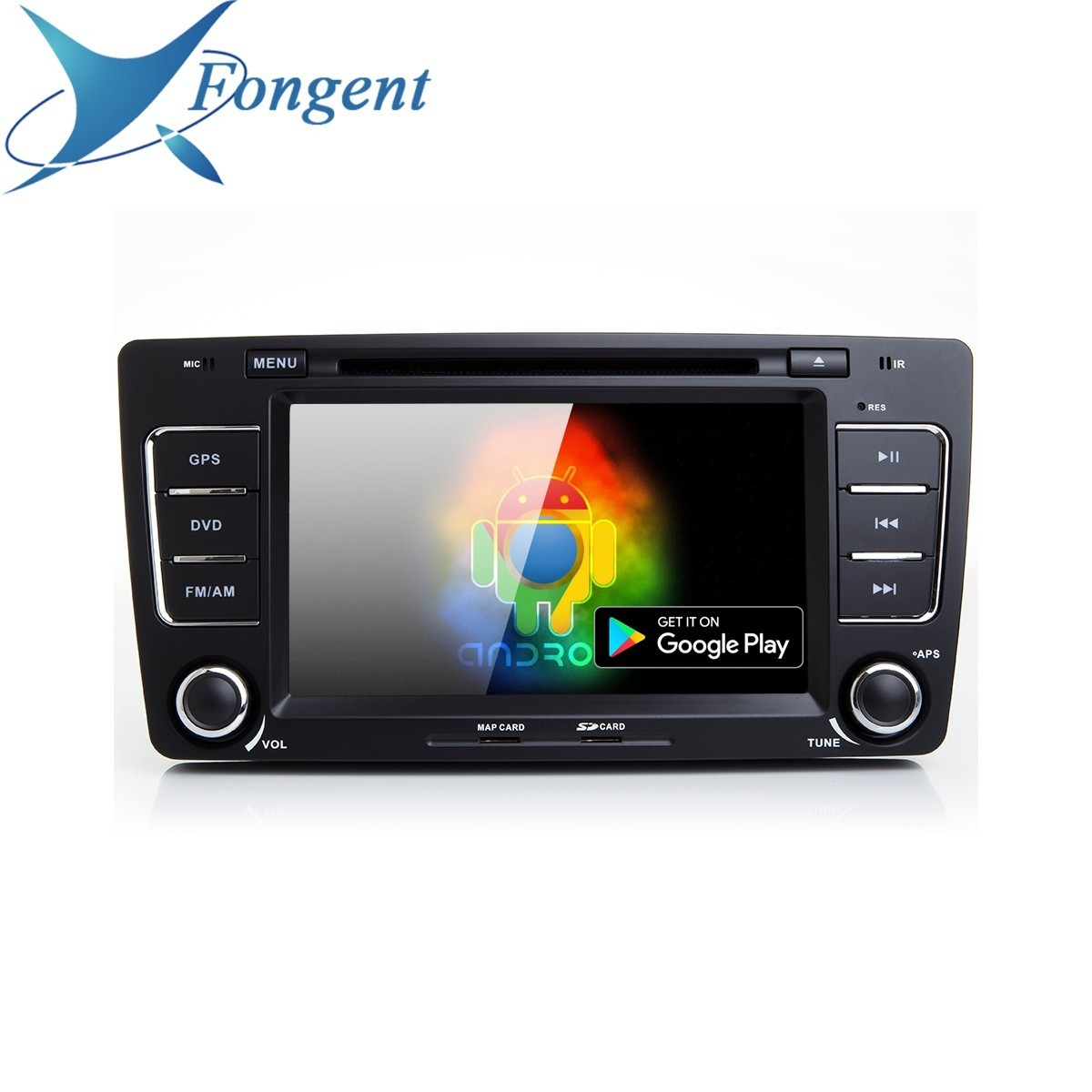 Car <font><b>Android</b></font> 9.0 Head Unit for SKODA OCTAVIA 2009 2010 2011 2012 2013 2014 2015 radio Stereo Audio GPS Navi Map Multimedia Player image