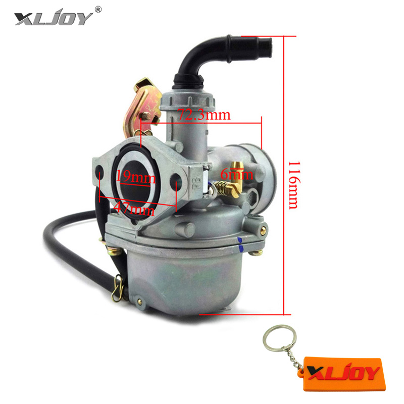 Atv Parts & Accessories New Carburetor Pz19 Carb 50 70 90cc 100 110cc 125cc Atv Sunl Nst Chinese Cable Choke To Adopt Advanced Technology Atv,rv,boat & Other Vehicle