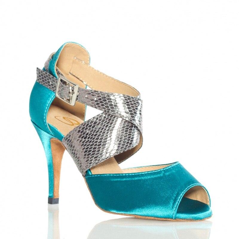 ФОТО 2017  women's designer shoes Latin dance high heeled soft outsole customize women dance shoes free shipping XC-6306