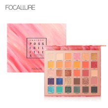 FOCALLURE ENDLESS POSSIBILITIES Eyeshadow Palette 30 COLOR IN 1 PALLATE Waterproof Glitter High Pigment Eye Makeup shades sets