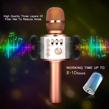 Wireless Microphone4.1SpeakerMachineforAndroid/iPhone/iPad/SonyPCorAll Smartphone Usb Microphone  Bluetooth Mic Studio Mic K38