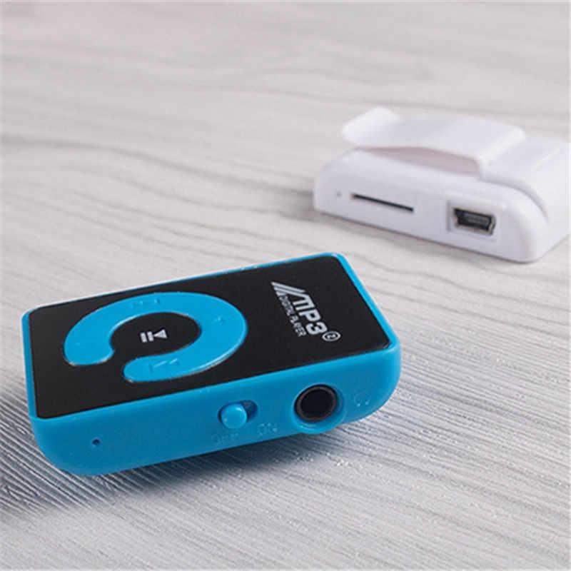 MP3 เด็กของขวัญเครื่องเล่นเพลงพร้อมคลิป Mini กีฬา MP3 พร้อมช่องเสียบการ์ด TF MP3-6 สี TW-539 ITSYH
