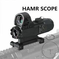 Canis Latrans Тактический мм 4x24 мм прицел с меткой 4 Высокая точность мульти диапазон Riflescope HAMR для наружной охоты gs1 0403