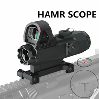 PPT HAMR Scope 4x24mm Rifle Scope Magnifier Riflescope Night Hunting Scopes Sniper Rifle Scope Air Gun Optic Scope gs1 0403
