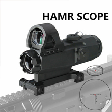 PPT HAMR Scope 4x24mm Rifle Scope Magnifier Riflescope Night