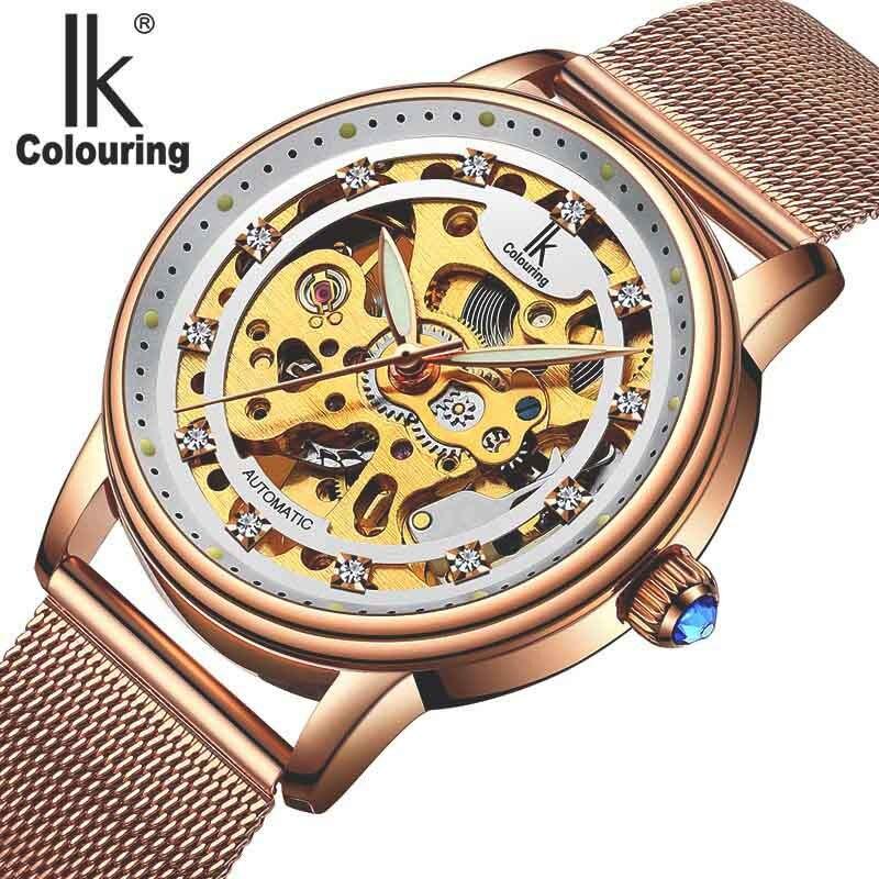 Women Watch Luxury Brand Fashion Casual Ladies Watch Dress hollow automatic mechanical Watch Clock Woman feminino reloj mujer цена