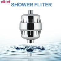 Hot الحمام دش الاستحمام الصحية العلاج تنقية المياه فلتر إزالة الكلور مطهر مجانية