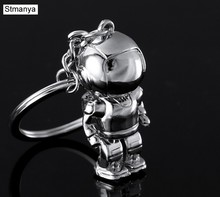 Robot del fumetto Portachiavi-Anello Chiave Della Catena Chiave Dell'automobile Keychain Trasporto libero Asimo portachiavi Per Best del Regalo del commercio all'ingrosso #1 -17176(China)