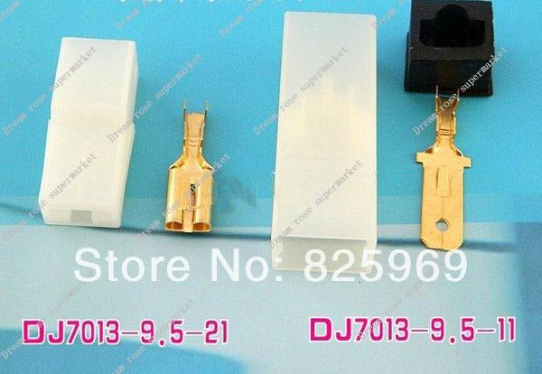 Free Shipping 1sets 5pcs DJ7013 9 5 1Pin way car connector Car Electrical connector kits for