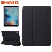 Haweel Tablet Case For iPad Pro 9.7 inch Horizontal Flip Solid Color Leather with Three-folding Holder Wake-up Sleep