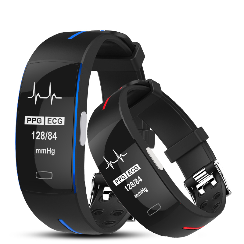 ECG Smart Band Pulsometer Smart Watch Blood Pressure Smart Bracelet Heart Rate Monitor Fitness Watch Alarm Clock pk fitbits
