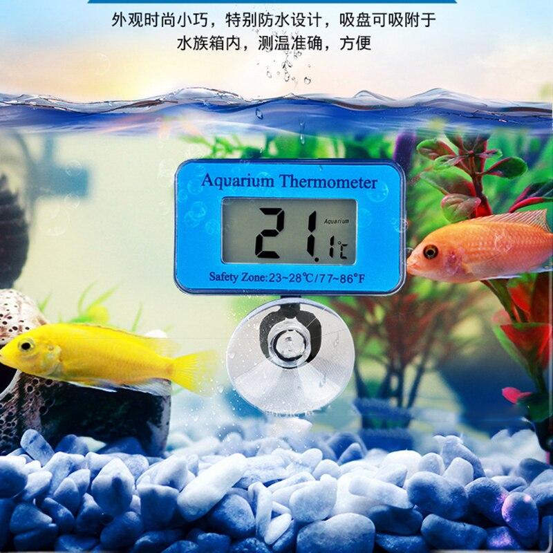 -50~+70 Waterproof LCD Digital Fish Tank Aquarium Thermometer Submersible Water Temperature Meter Temperature Control