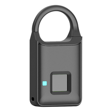 Standalone Biometric Fingerprint Lock Access Control Reader Controller Waterproof Keyless Anti-theft Padlock Door Lock Bag Lock стоимость